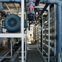 Desalination Plant Photo by Jon Wiley