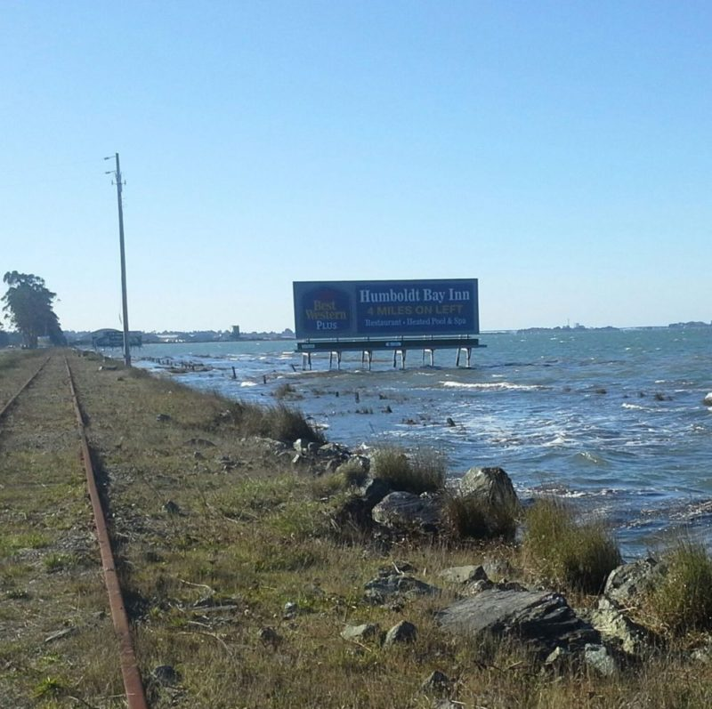 King Tides Photo by Humboldt Baykeeper